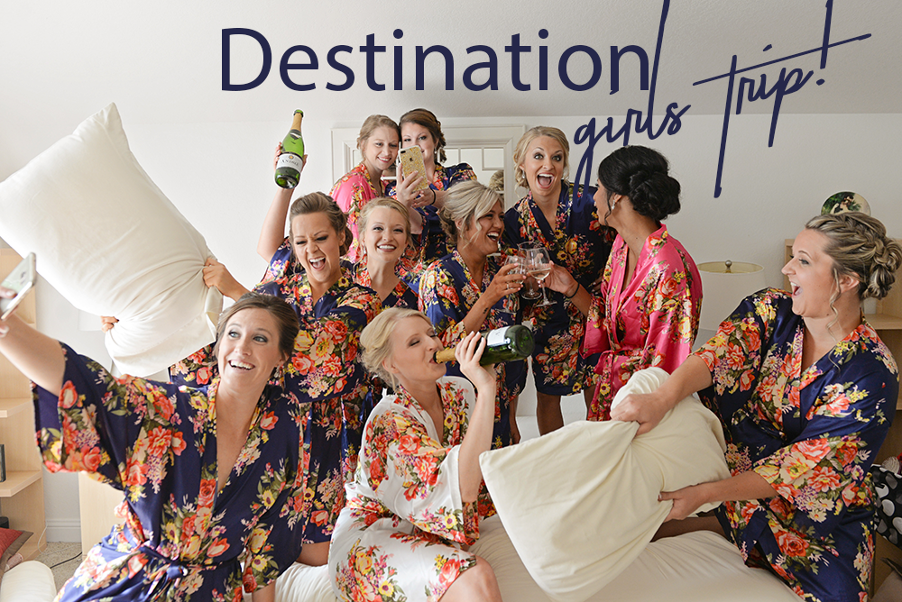 destination florida girls trip bachelorette party
