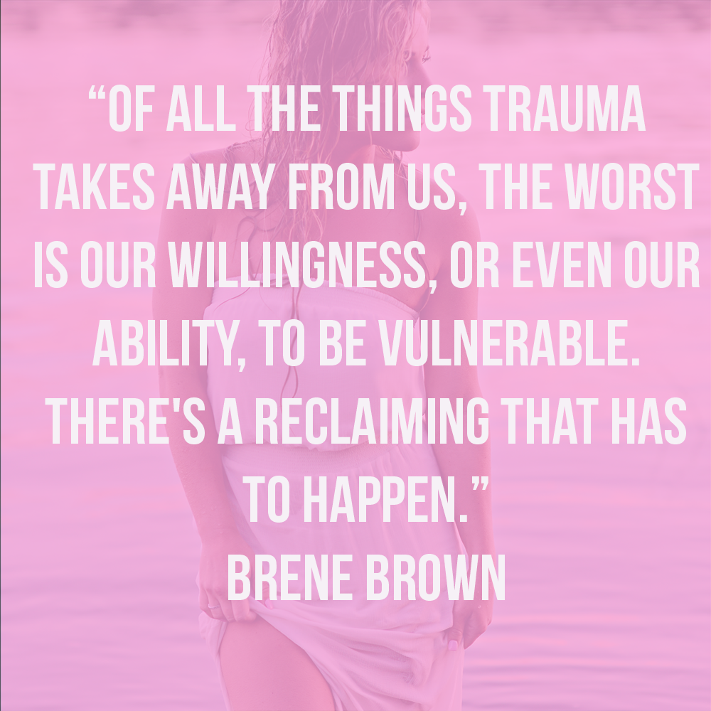 brene brown quote about vulnerability