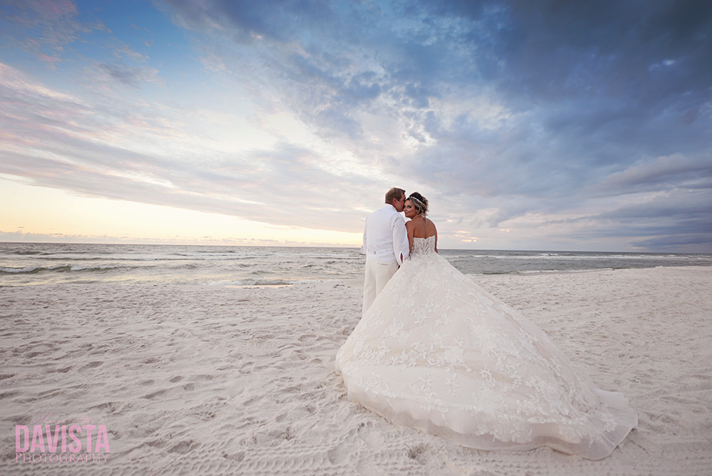 Panama City beach wedding photographer- davista photography