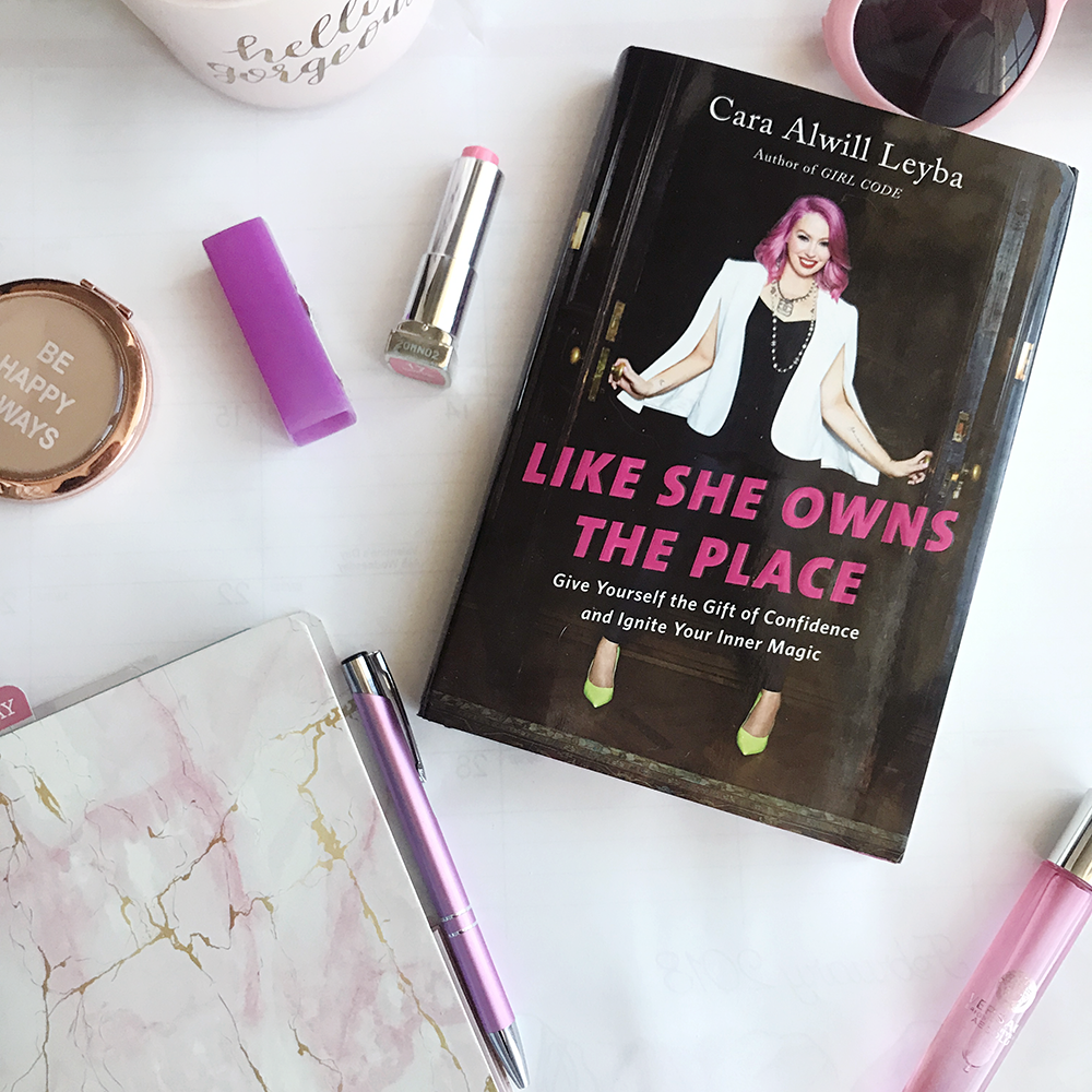 like she owns the place- blogger