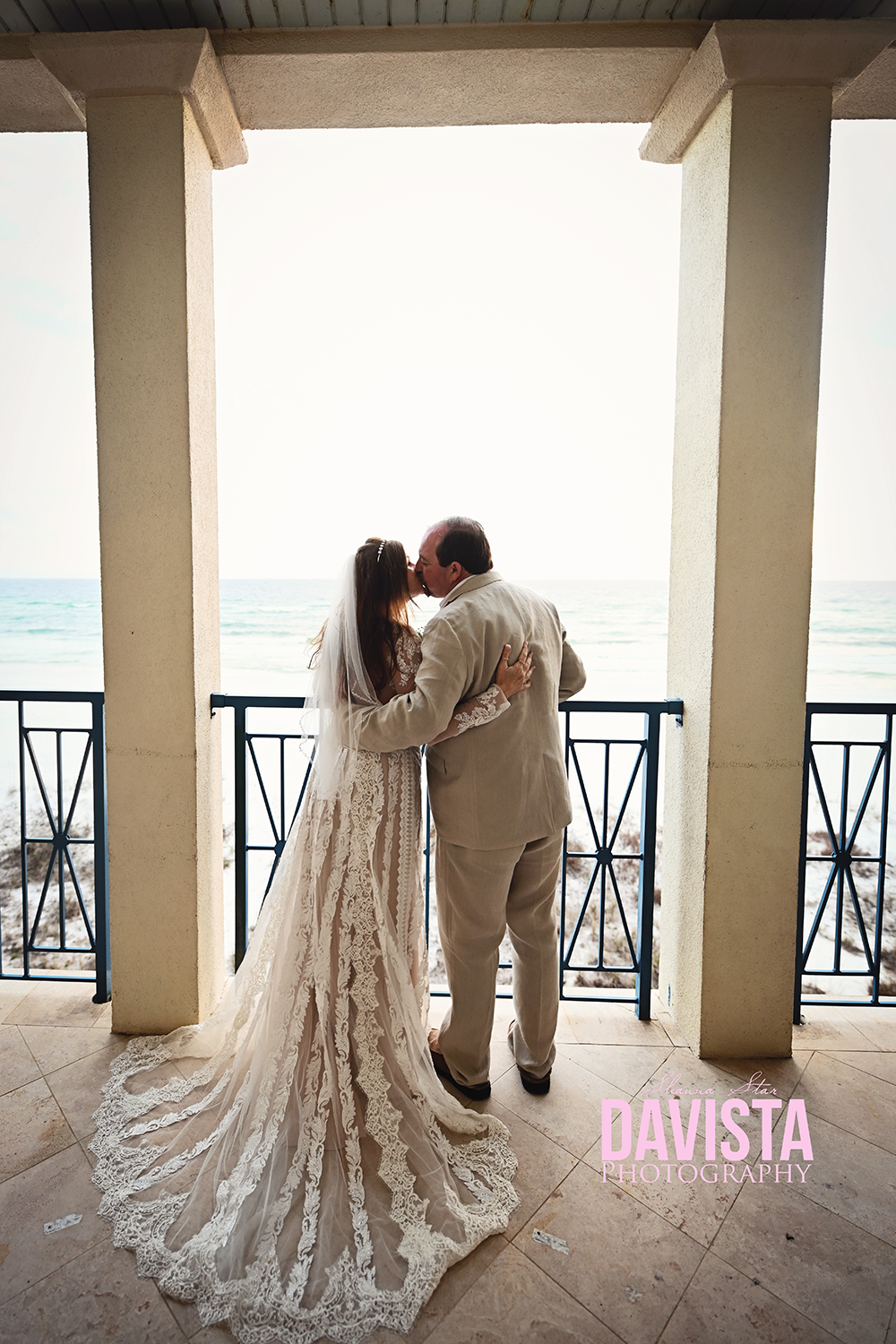 Panama City beach wedding