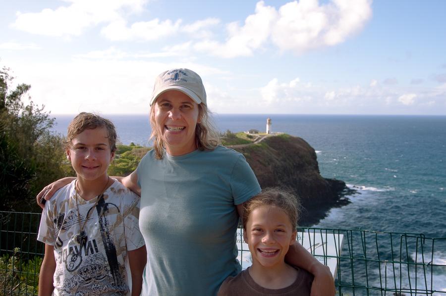 Family at Kilauea