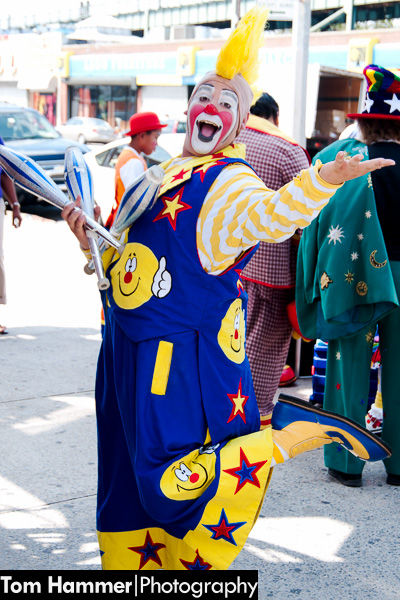 Coney Island Clown