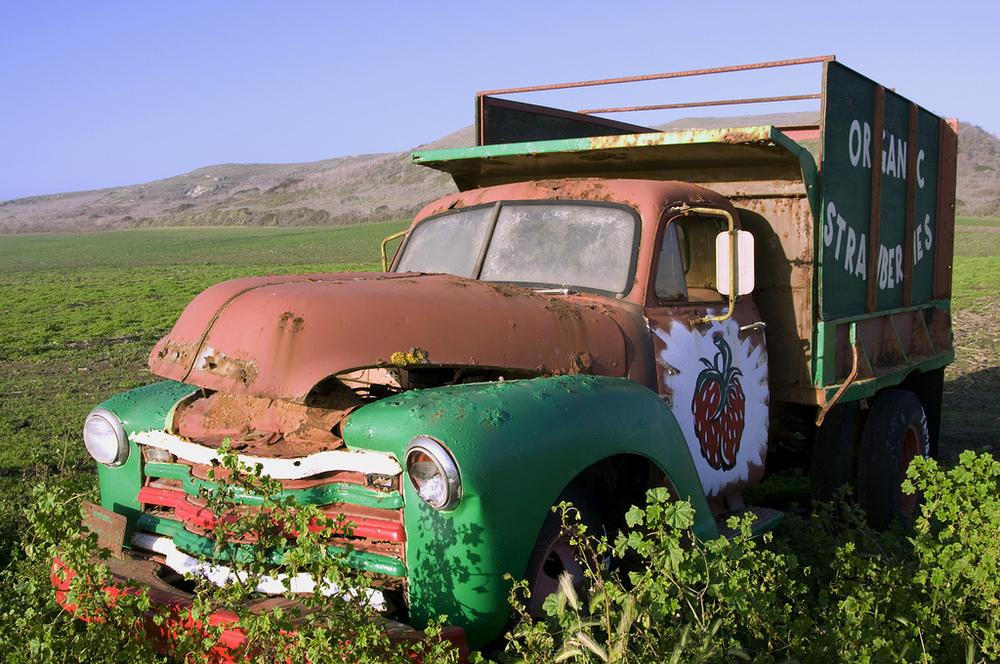 Strawberry Truck - Pescadero
