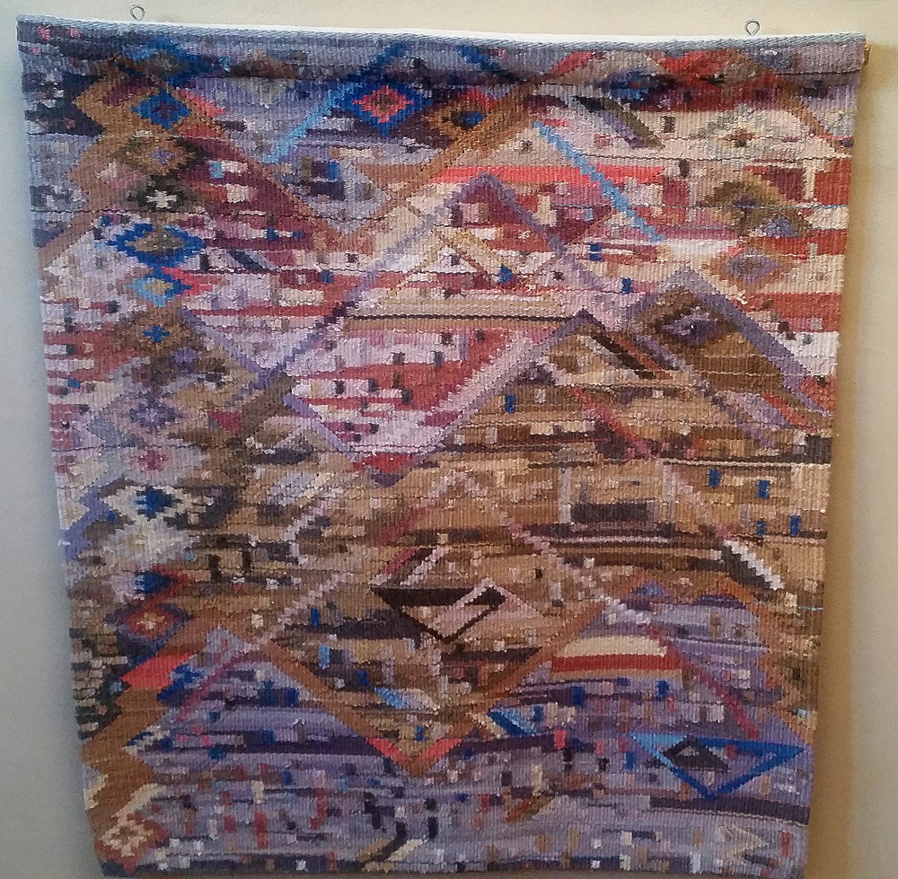Original tapestry by Nancy Phillips