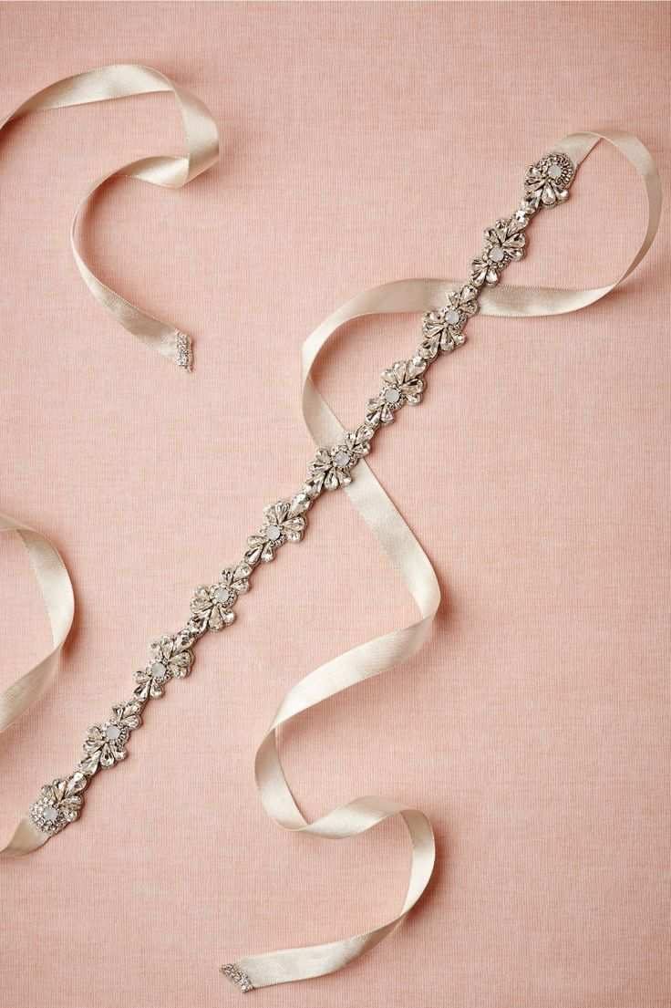 This Sparkled Skinny Sash adds just the right amount of glitz for me. Love the design as well!