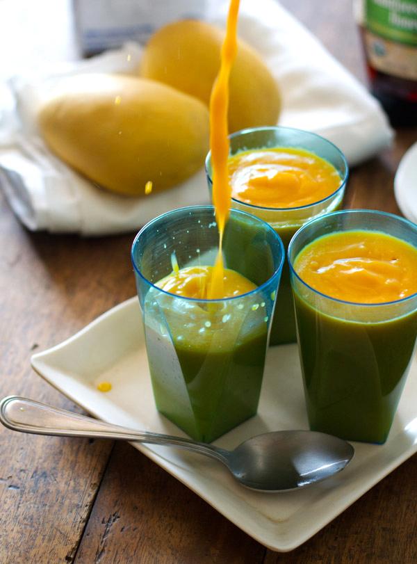 foodopia: papaya mango smoothie: recipe here