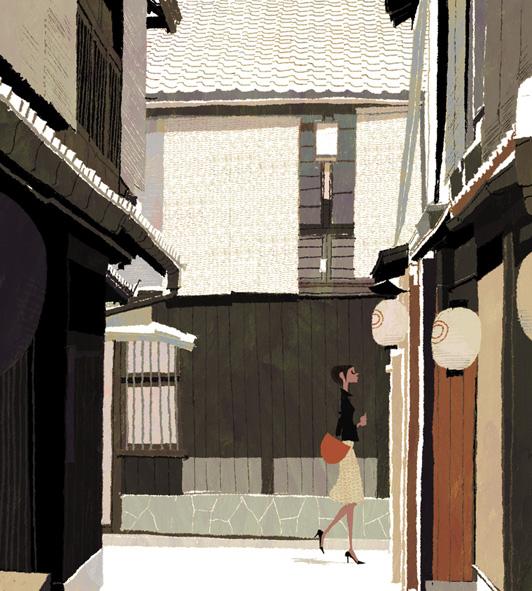 gurafiku: Japanese Illustration: Ura-dori. Tadahiro Uesugi. 2007