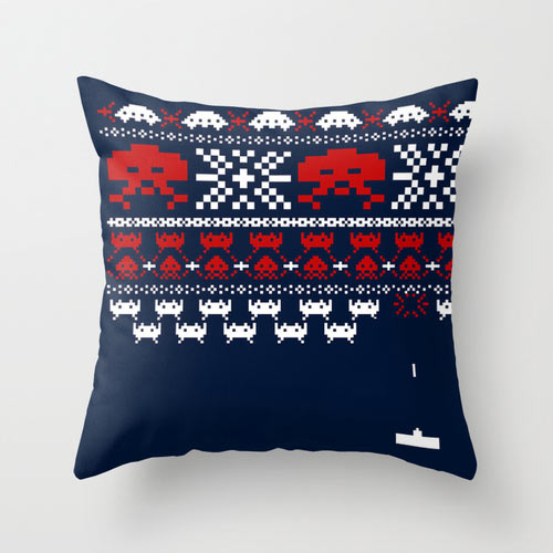 thingsipedia: DeadFix » Invader pillow
