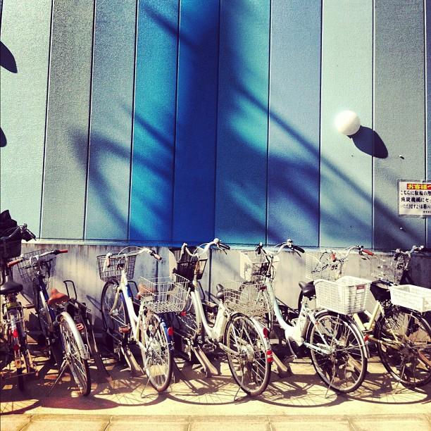 Full #parking #bike #bicycle