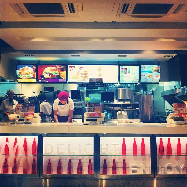 #mcdonalds #fast #food #restaurant #interior