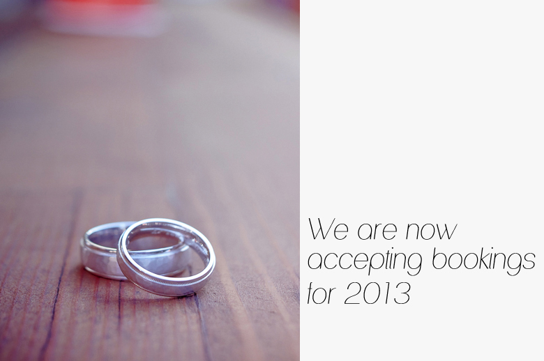 Plan ahead, emailus and book your wedding session today.