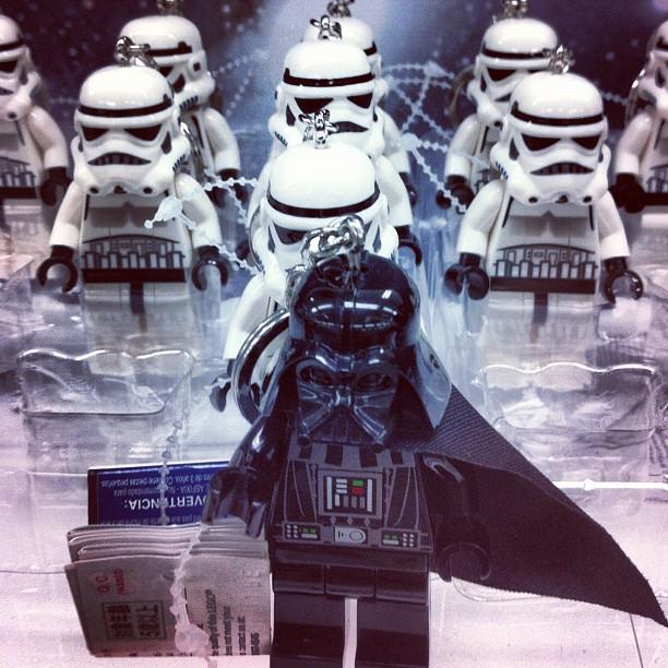 #darth #vader #Imperial #Stormtroopers #Star Wars (Taken with Instagram)