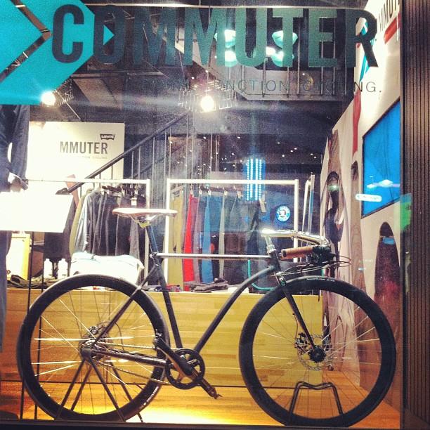 Levi's x cherubim #bike #fixie #commuter (Taken with Instagram)