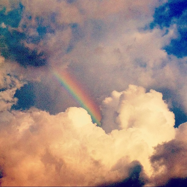 somewhere over the #rainbow (Taken with Instagram)