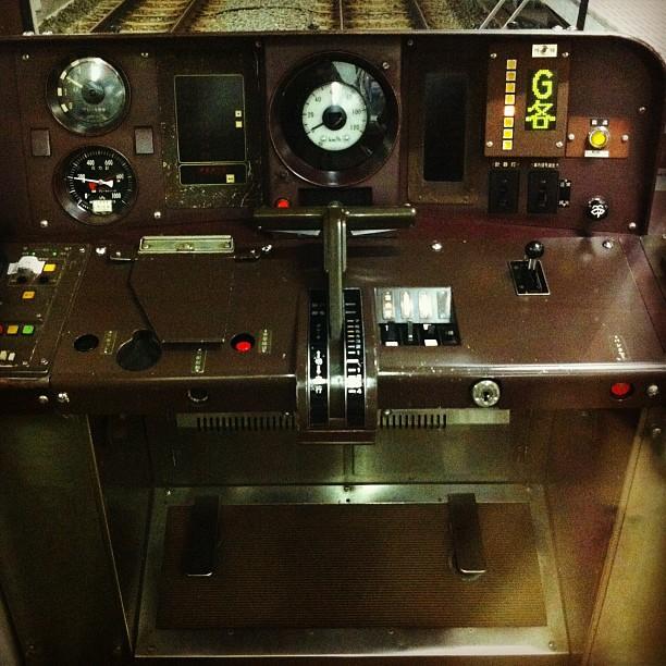 #cockpit #train #subway (Taken with Instagram)