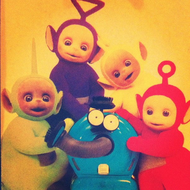 #Teletubbies LaaLaa, Po, Dipsy, and Tinky-Winky (Taken with Instagram)