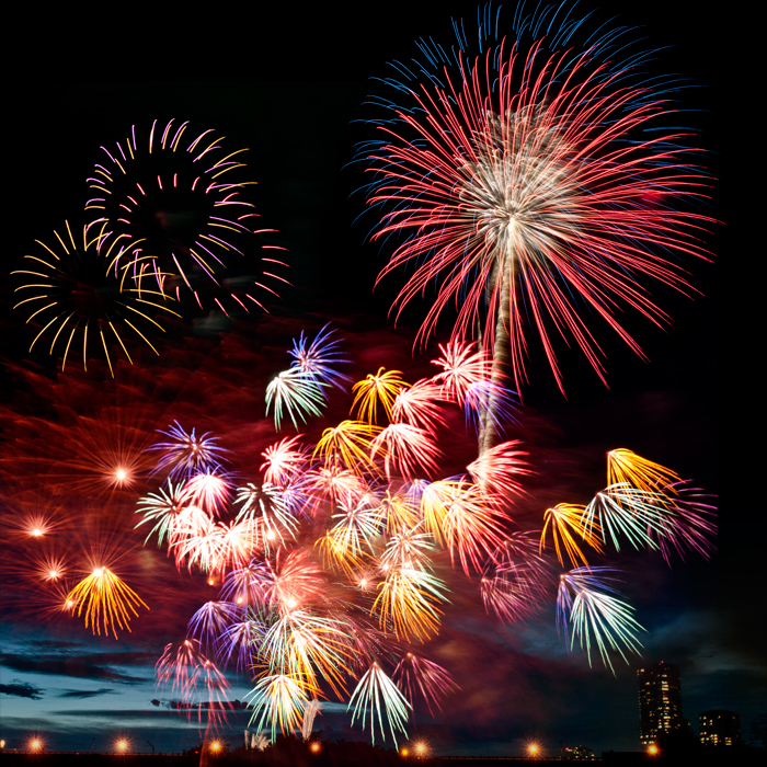 #fireworks #hanabi #events #night