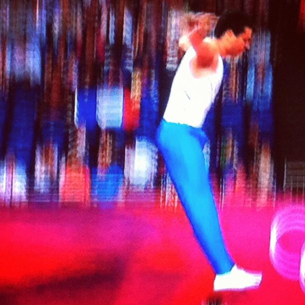 #trampoline #olympic #motion #blur (Taken with Instagram)