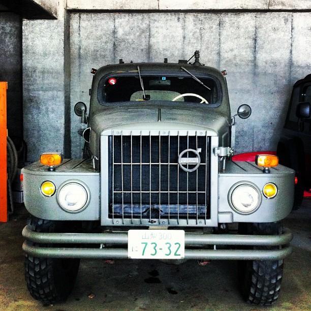 #Volvo #TP21 #Sugga #military #army #heavy #car (Taken with Instagram)