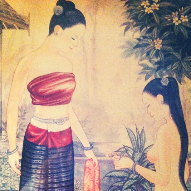 Thai art (Taken with Instagram)