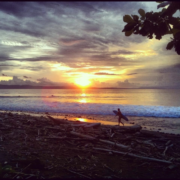 Pavones Sun Set.