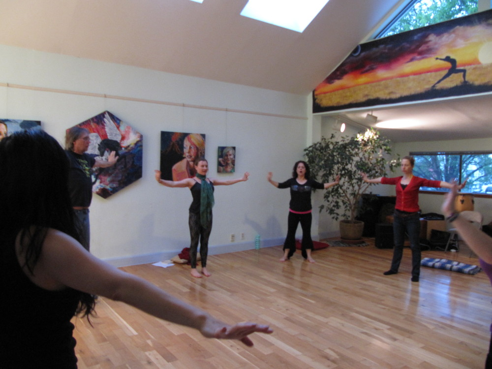 Body-Led Singing Classes and Workshops