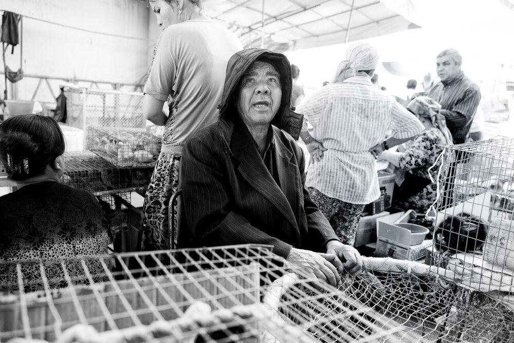 Yangiobod bazaar Tashkent | May 2016
