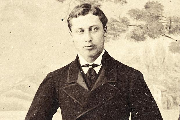 Bertie as a young man.
