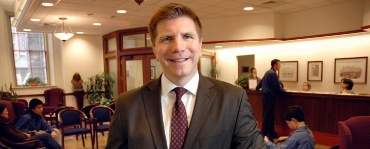 Dean Eric Furda of Penn Admissions.