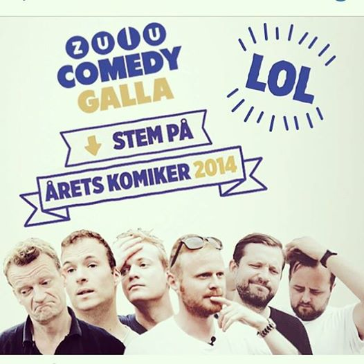 Du kan stemme her:http://zulu.dk/aarets-komiker-2014