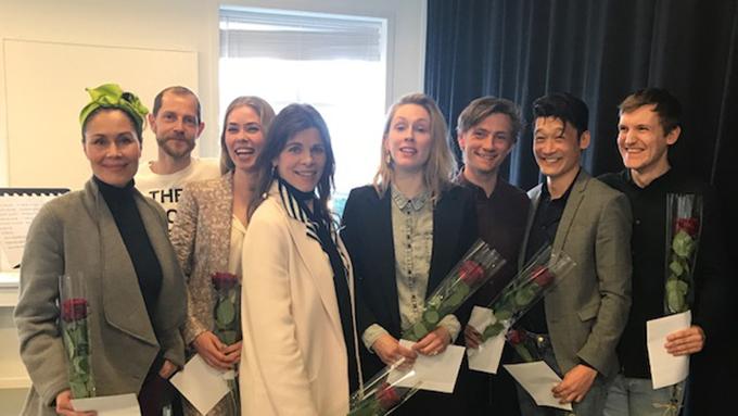 Nukaka Coster-Waldau,Nicolai Dahl Hamilton,Birgitte Hjort Sørensen,Ellen Hillingsø, Rikke Lylloff, Esben Smed,Thomas Hwan og Elliott Crosset Hove.