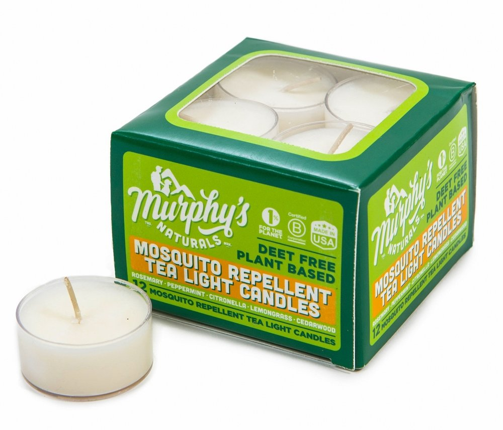Mosquito Repellent Tea Light Candles