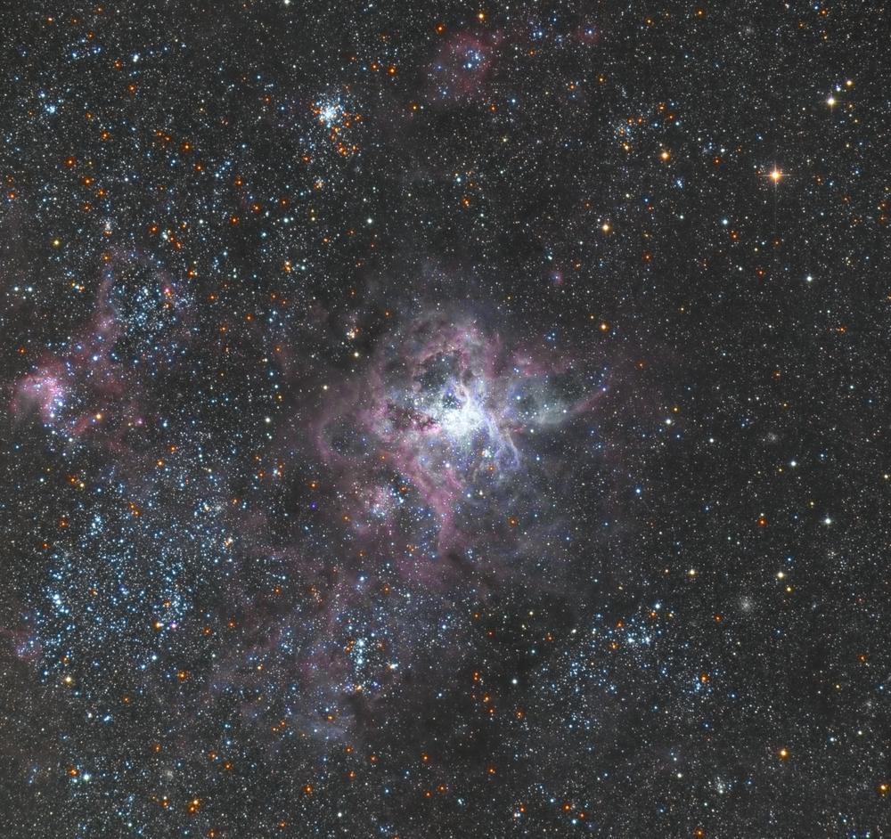 NGC 2070, aka the Tarantula Nebula