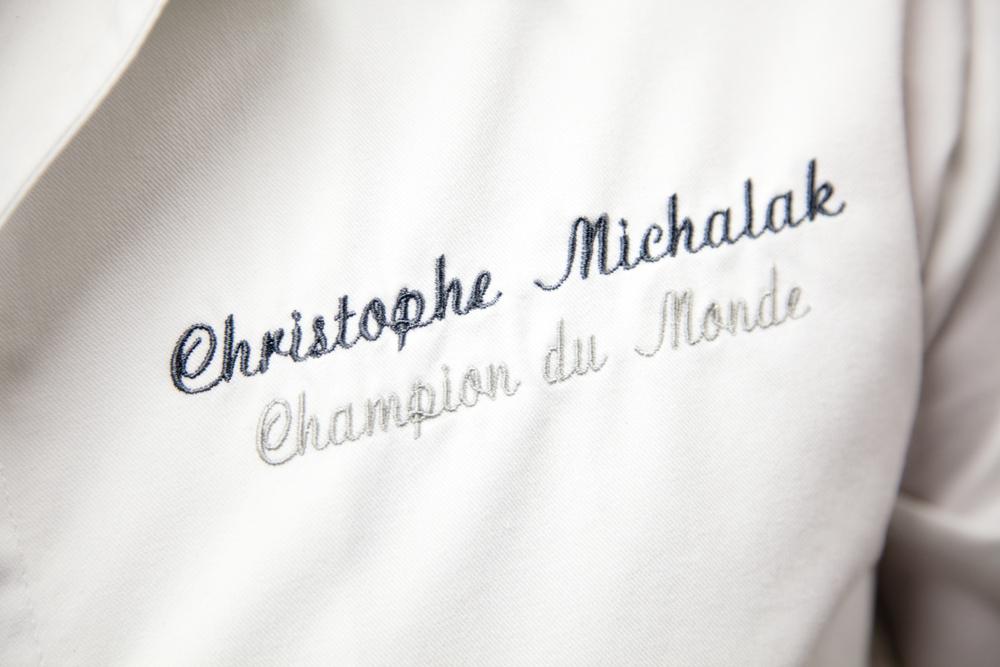 Christophe Michalak est un des pâtissiers les plus doués de sa génération. Champion du Monde en 2005, sa médiatisation a sans doute permis à la pâtisserie de trouver un public plus large. © T. Caron
