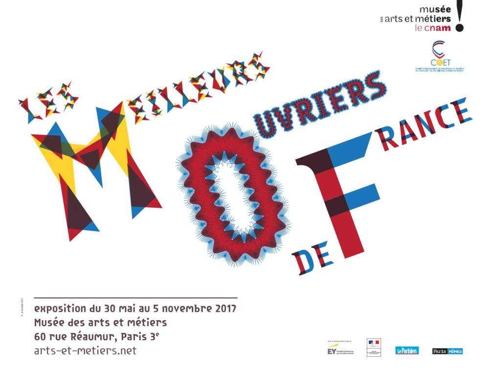 MOF Musée des Arts et Métiers. Paris.  Exposition en cours.  Du 30 mai au 5 novembre 2017. Installation vidéo, photographies, sons, catalogue.    http://www.arts-et-metiers.net/musee/les-meilleurs-ouvriers-de-france