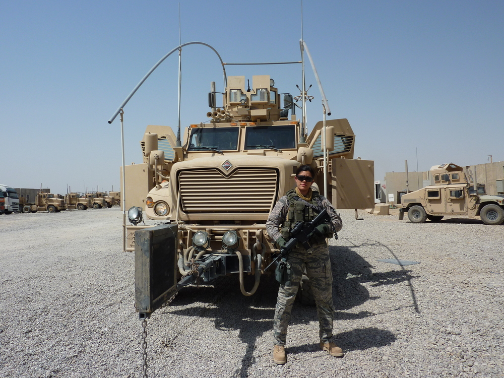 Deployed to Kirkuk AB, Iraq in 2010