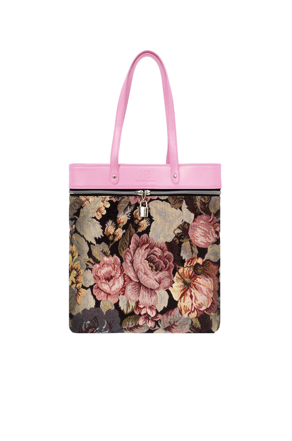 Be Wright Tote - Pink - Flowers
