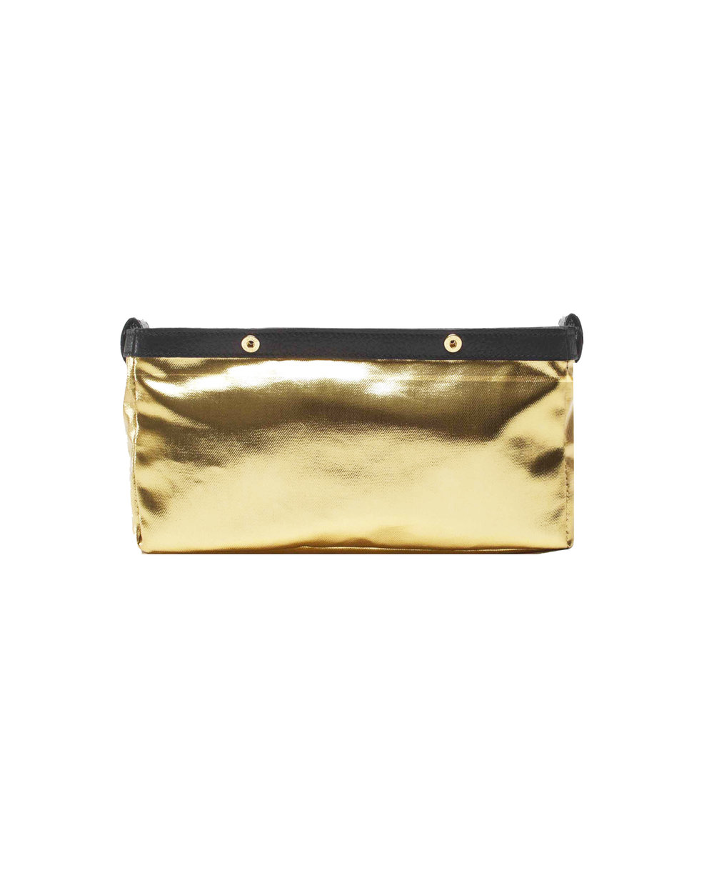 Be Fuller Clutch - Gold Inner bag