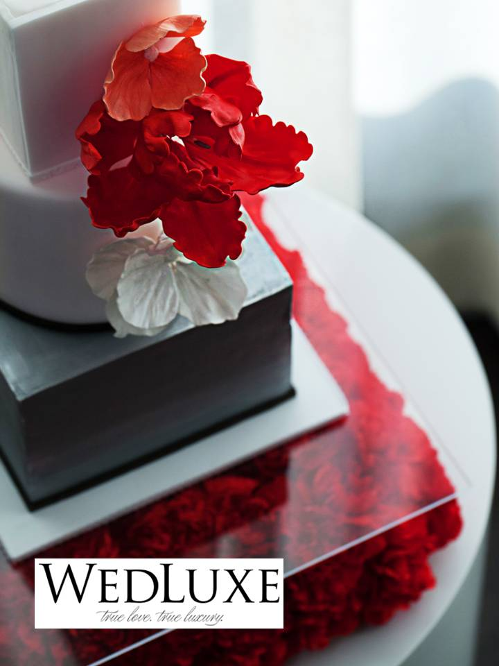 Wedluxe published wedding styled shoot full bloom