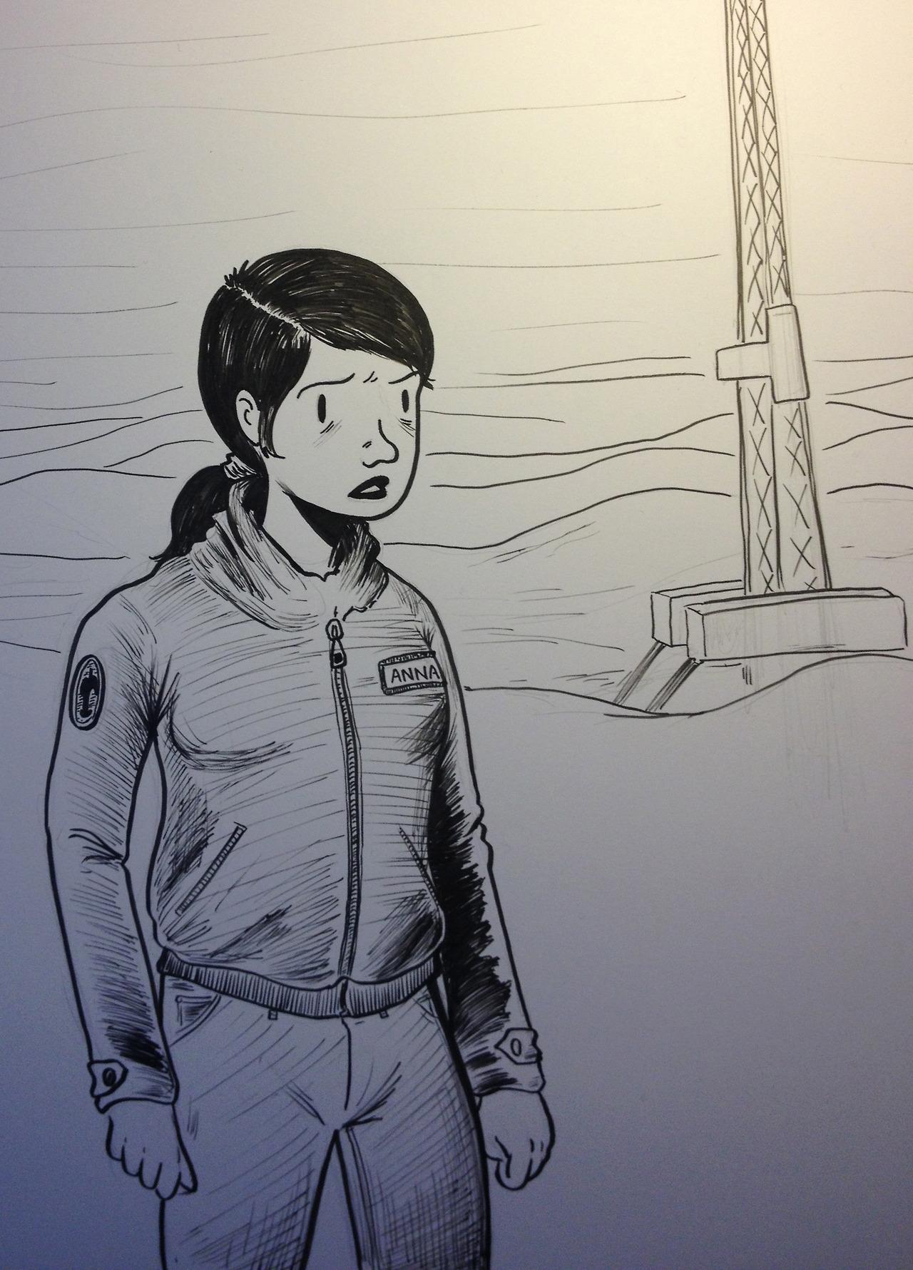 character sketchin'
