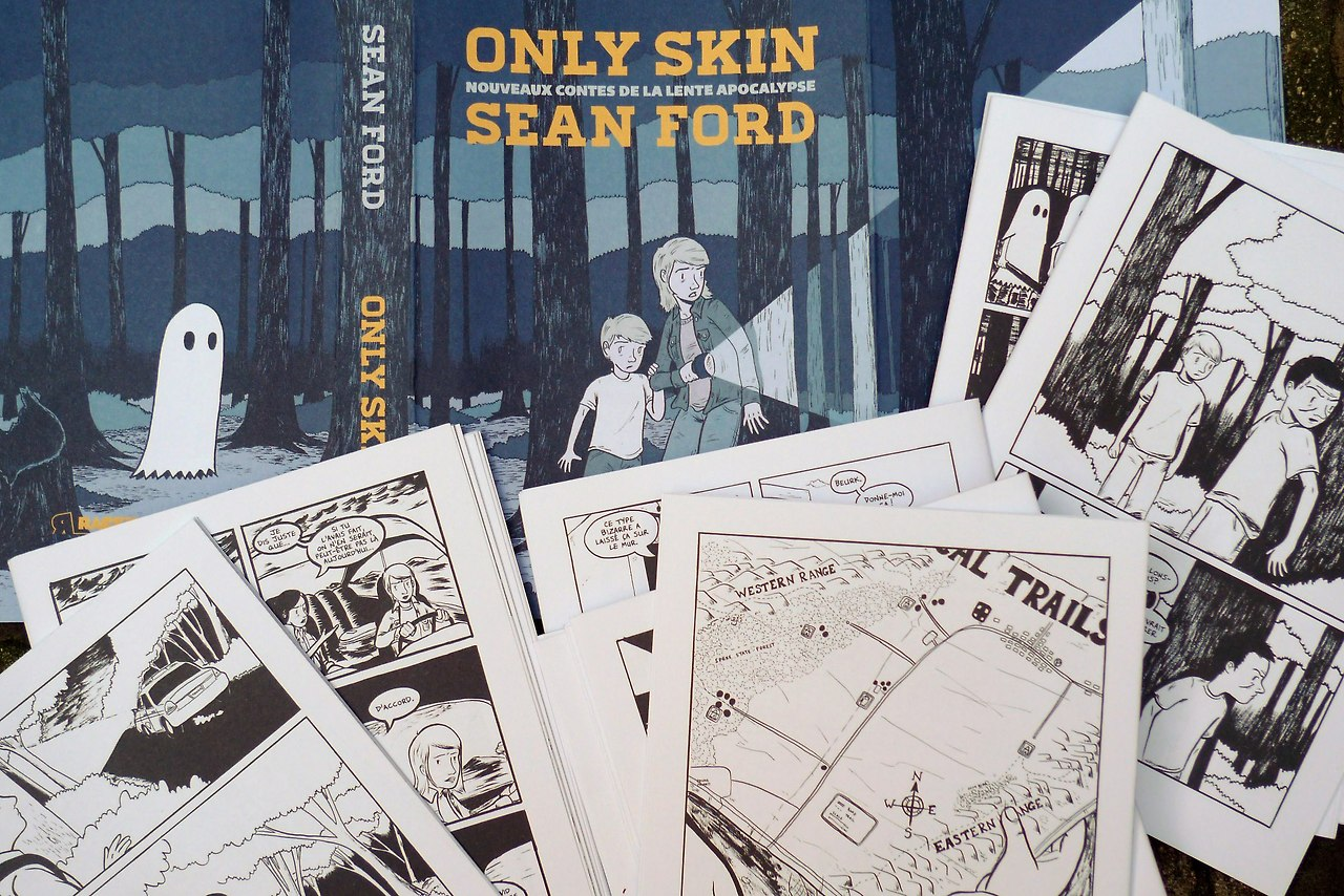 some press proofs of the french edition of only skin