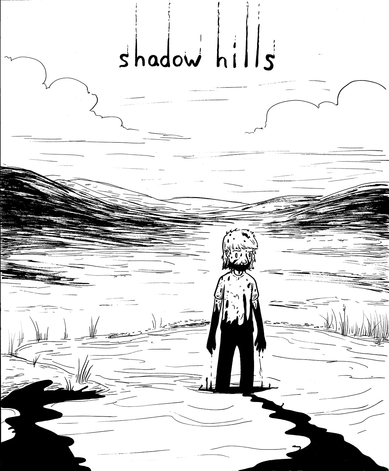 possible cover sketch for shadow hills #1 (coming sooooon)