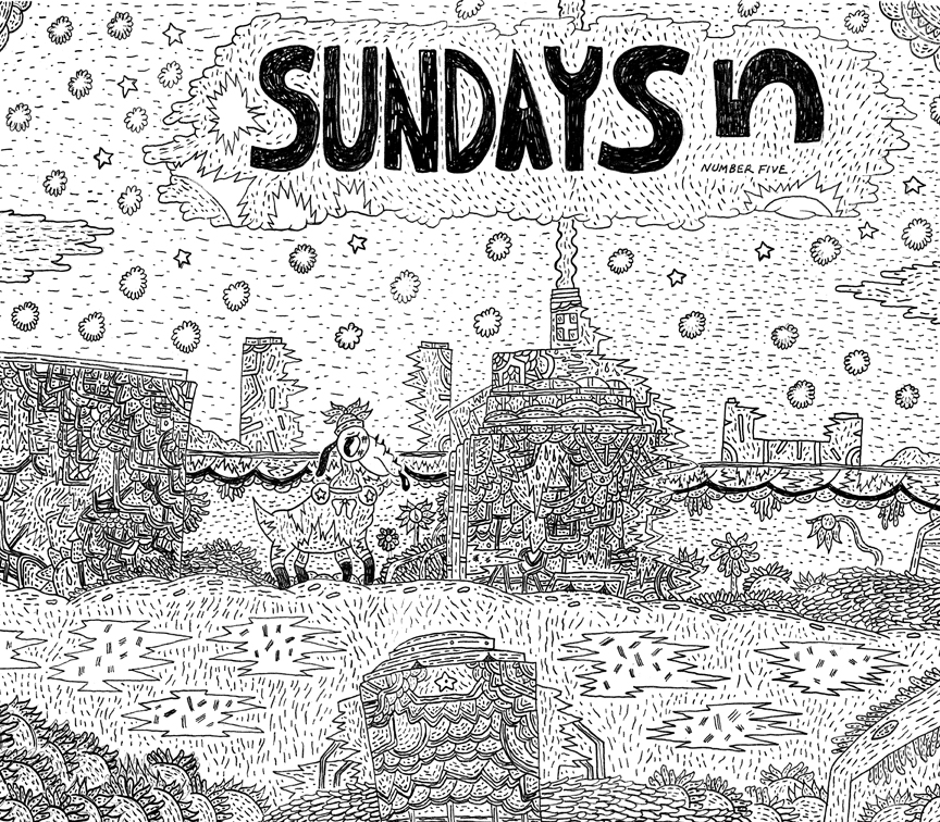 yaaay danemartin: Preview of the title page for Sundays 5. (1/2)