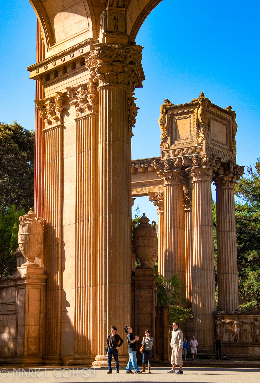 Palace of Fine Arts, San Francisco 2010