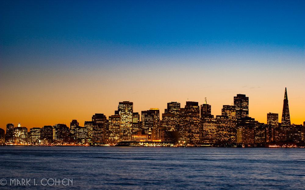 San Francisco skyline no.5 2009