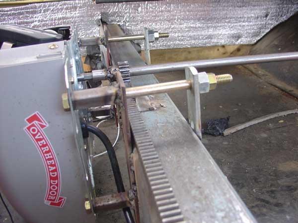 Welded motor mount