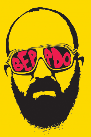 Special illo for Beardo, the weirdo.