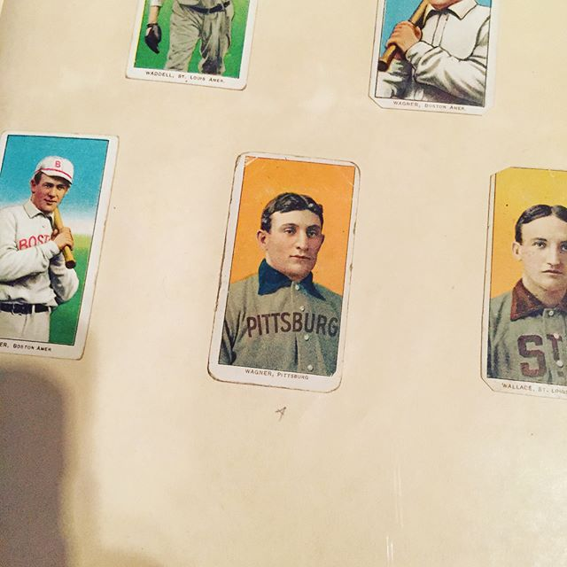 Neat to see a piece of baseball history come to Delaware for all to see - the Honus Wagner baseball card. (The T206 card and other sports memorabilia were on display at Winterthur from March 9 - June 17, 2018). #honuswagner #honuswagnercard