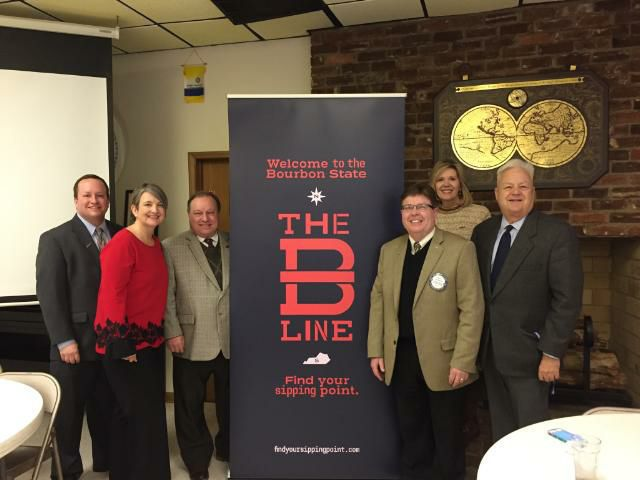 B-Line brings bourbon tourism to Maysville   January 31, 2018   According to Kirkpatrick, who helped launch the initiative at Maysville Rotary, the B Line will serve as an official gateway to the Kentucky Bourbon Trail. Read the full article  here . Photo credit: The Ledger Independent